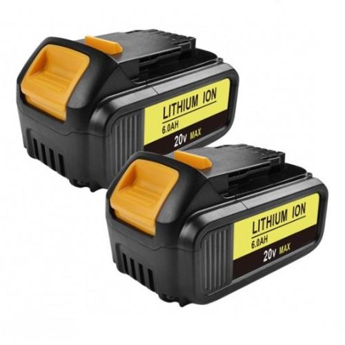 Аккумулятор для DeWalt DCB200/DCB203/DCB204, (Li-ion 20V 6.0Ah)