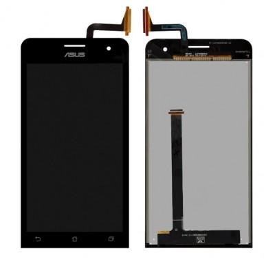Дисплей для Asus Zenfone 5/A500KL/A500CG/A501CG/T00J, черный, с тачскрином, ORIG