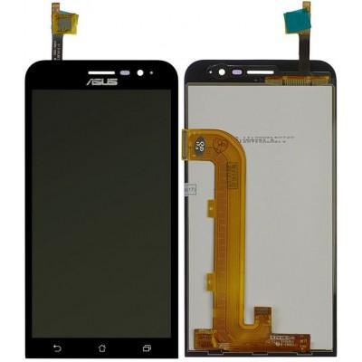 Дисплей для Asus Zenfone Go/ZB500KG, черный, с тачскрином, ORIG