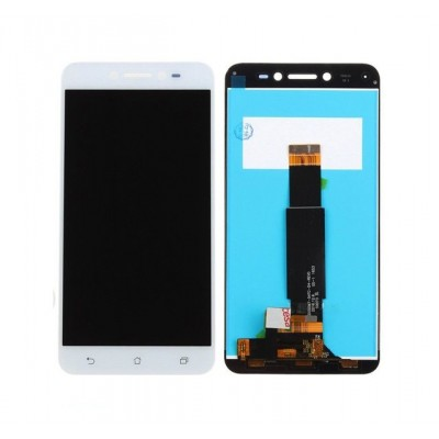 Дисплей для Asus Zenfone Live/ZB501KL, белый, с тачскрином, ORIG