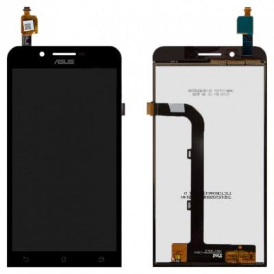 Дисплей для Asus Zenfone Go/ZC500TG, черный, с тачскрином, ORIG
