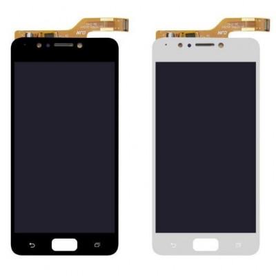 Дисплей для Asus Zenfone 4 Max/ZC520KL/X00HD, белый, с тачскрином, ORIG