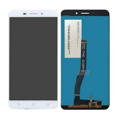 Дисплей для Asus Zenfone 3 Laser/ZC551KL, белый, с тачскрином, ORIG