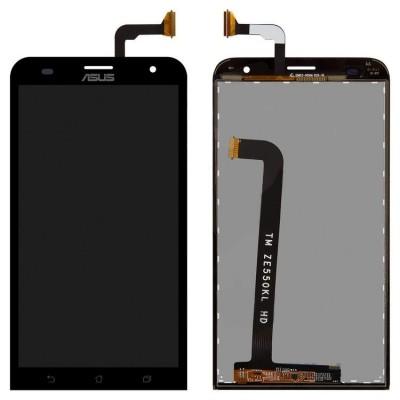 Дисплей для Asus Zenfone 2 Laser/ZE500KG/ZE500KL/ZE500ML/Z00RD, черный, с тачскрином, ORIG
