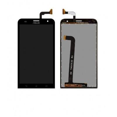 Дисплей для Asus Zenfone 2 Laser/ZE550KL, черный, с тачскрином, ORIG