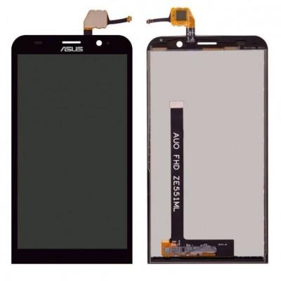 Дисплей для Asus Zenfone 2/ZE551ML/Z00ADA/Z00ADB, черный, с тачскрином, ORIG