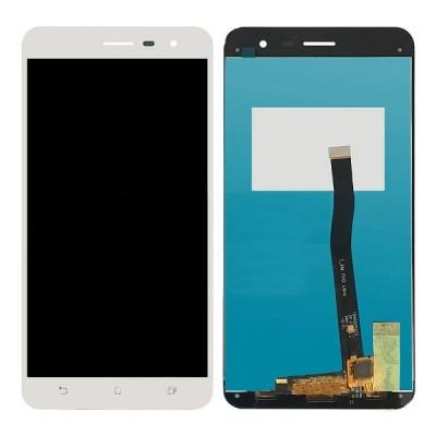 Дисплей для Asus Zenfone 3/ZE552KL, белый, с тачскрином, ORIG