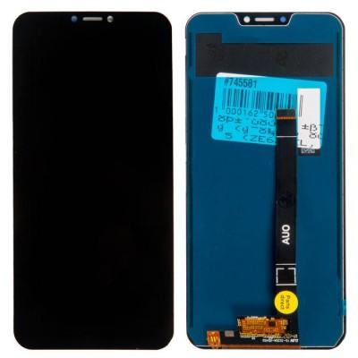 Дисплей для Asus Zenfone 5/ZE620KL/5Z/ZS620KL, черный, с тачскрином, ORIG
