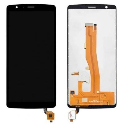 Дисплей для Blackview A20, черный, с тачскрином