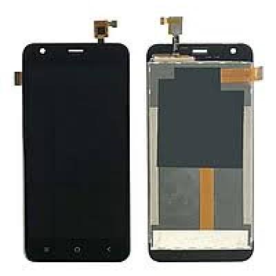 Дисплей для Blackview A7, черный, с тачскрином (MFP050375B)