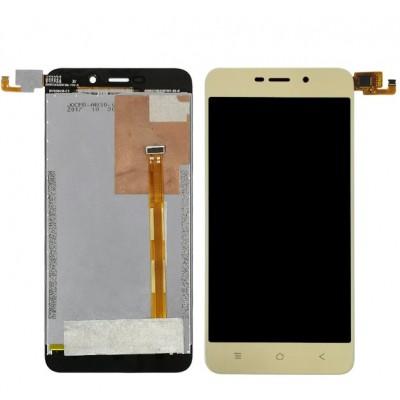 Дисплей для Blackview A7, золотой, с тачскрином (MFP050375B)