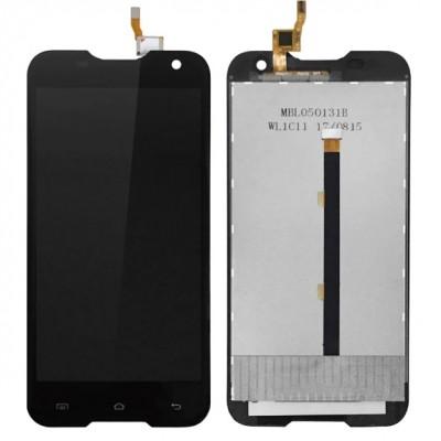 Дисплей для Blackview BV5000, черный, с тачскрином