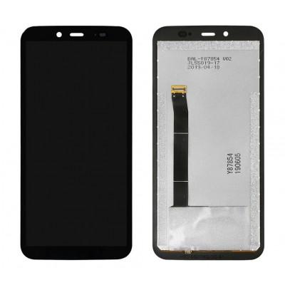 Дисплей для Blackview BV5500, черный, с тачскрином