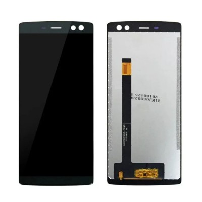 Дисплей для Doogee BL12000/BL12000 Pro, черный, с тачскрином