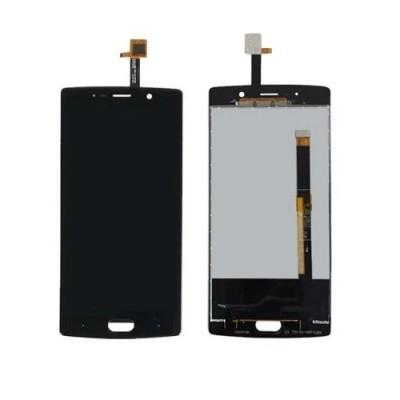 Дисплей для Doogee BL7000, черный, с тачскрином (long flex)