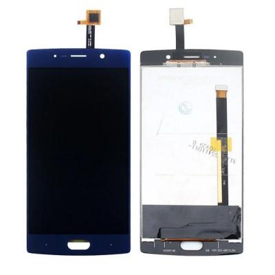Дисплей для Doogee BL7000, синий, с тачскрином (long flex)