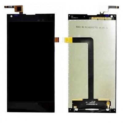 Дисплей для Doogee DG550, черный, с тачскрином