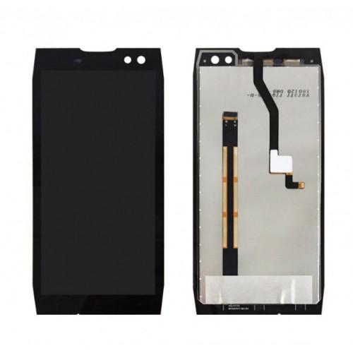 Дисплей для Doogee S50, черный, с тачскрином