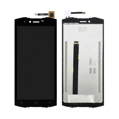 Дисплей для Doogee S55, черный, с тачскрином