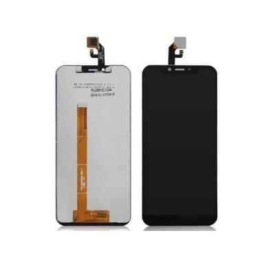 Дисплей для Leagoo S9, черный, с тачскрином