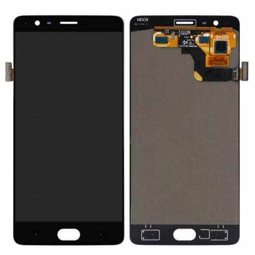 Дисплей для OnePlus 3/1+3/OnePlus 3T/1+3T, черный, с тачскрином, ORIG, OLED