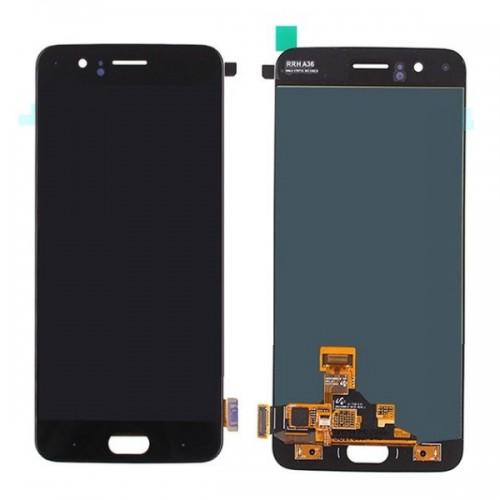Дисплей для OnePlus 5/1+5, черный, с тачскрином, ORIG, OLED