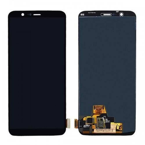 Дисплей для OnePlus 5T/1+5T, черный, с тачскрином, ORIG, OLED
