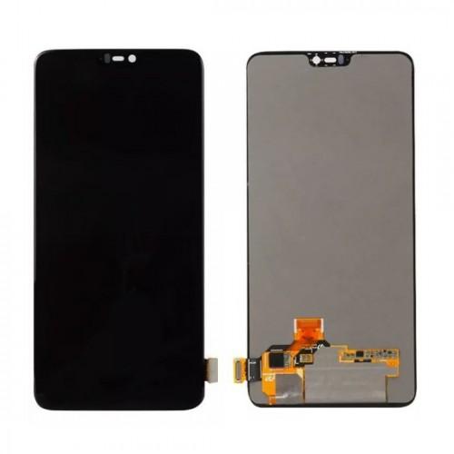 Дисплей для OnePlus 6/1+6, черный, с тачскрином, ORIG, OLED