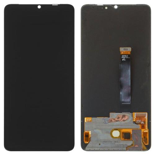 Дисплей для Oppo Realme X2 Pro, черный, с тачскрином, ORIG