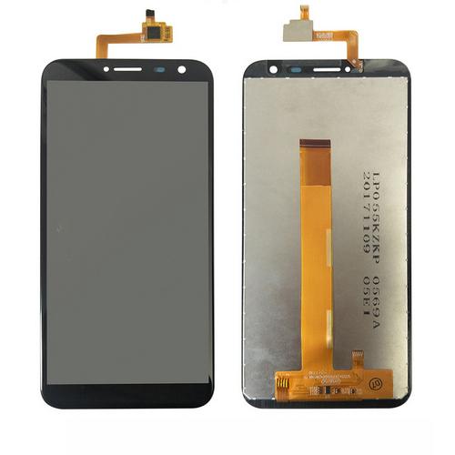 Дисплей для Oukitel C8, черный, с тачскрином