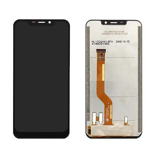 Дисплей для Oukitel C12 Pro, черный, с тачскрином