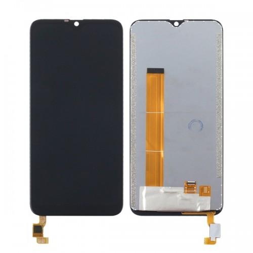 Дисплей для Oukitel C15 Pro, черный, с тачскрином