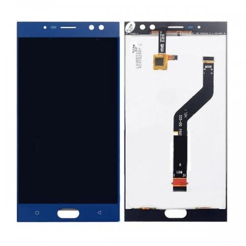 Дисплей для Oukitel K3, синий, с тачскрином