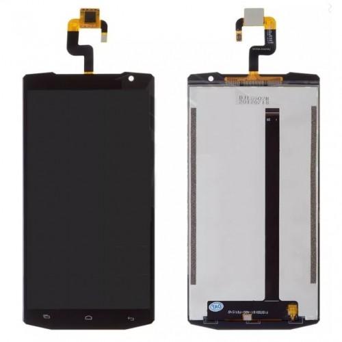 Дисплей для Oukitel K10000 Pro, черный, с тачскрином