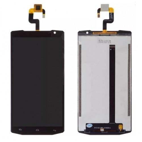 Дисплей для Oukitel K10000, черный, с тачскрином
