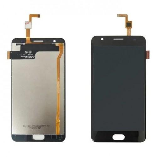 Дисплей для Oukitel K6000 Plus, черный, с тачскрином