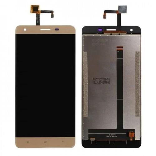 Дисплей для Oukitel K6000 Pro, золотой, с тачскрином