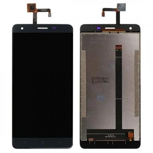 Дисплей для Oukitel K6000 Pro, черный, с тачскрином