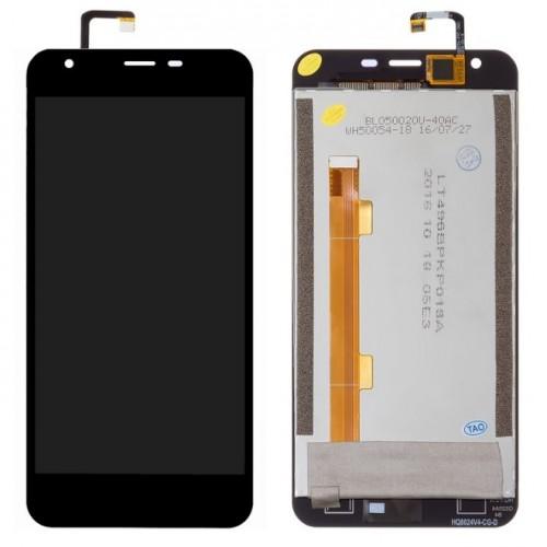 Дисплей для Oukitel K7000, черный, с тачскрином