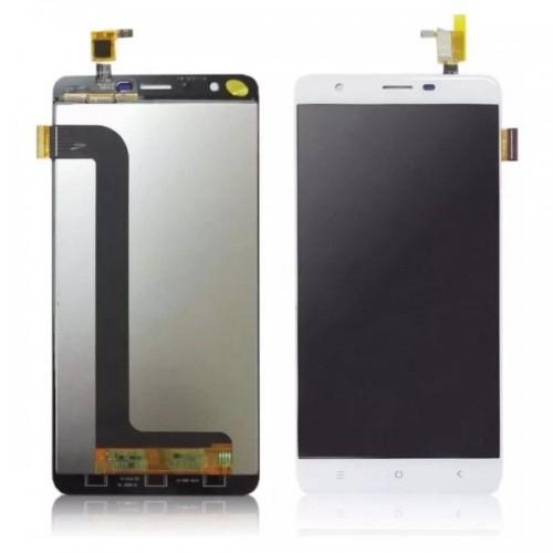 Дисплей для Oukitel U15 Pro, белый, с тачскрином