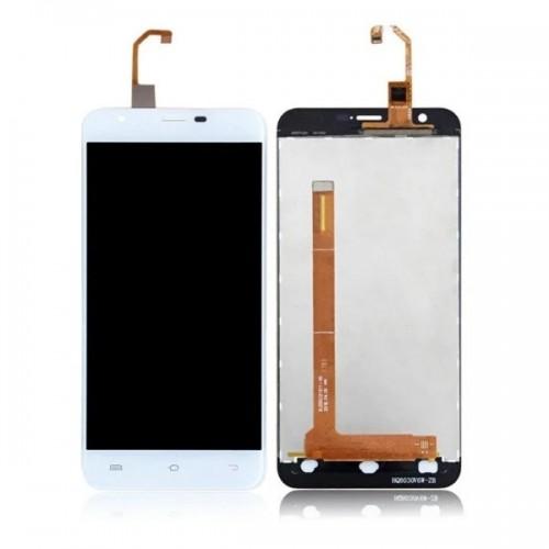Дисплей для Oukitel U7 Plus/U7 Max, белый, с тачскрином