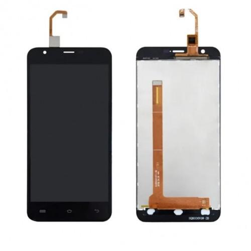 Дисплей для Oukitel U7 Plus/U7 Max, черный, с тачскрином