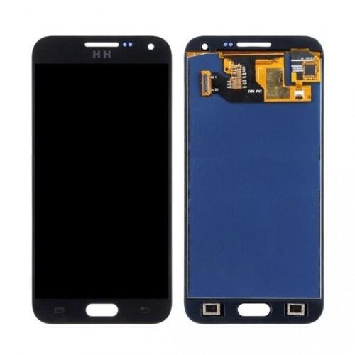 Дисплей для Samsung E5/E500, черный, с тачскрином, ORIG