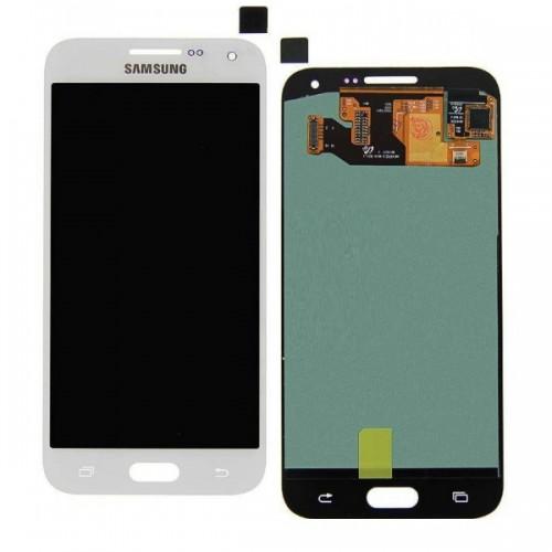 Дисплей для Samsung E5/E500, белый, с тачскрином, ORIG