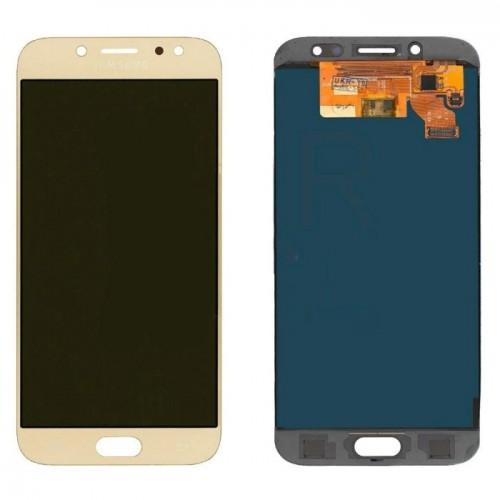 Дисплей для Samsung J7 2017/J730, золотой, с тачскрином, Incell