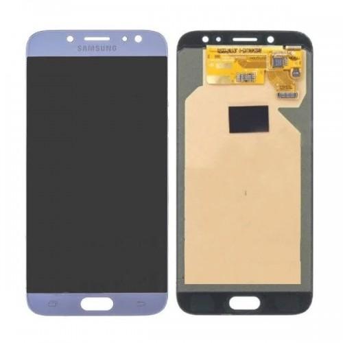 Дисплей для Samsung J7 2017/J730, голубой, с тачскрином, OLED