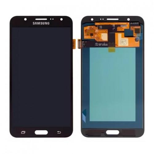 Дисплей для Samsung J7/J700, черный, с тачскрином, OLED