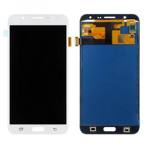 Дисплей для Samsung J7/J700, белый, с тачскрином, OLED