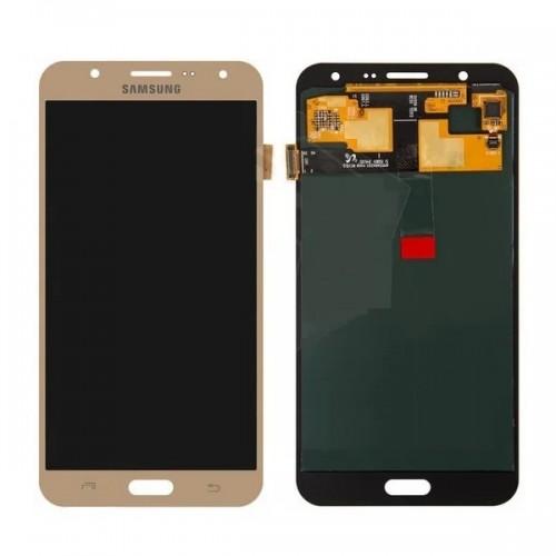 Дисплей для Samsung J7/J700, золотой, с тачскрином, TFT, AAA (яркость регулируется)