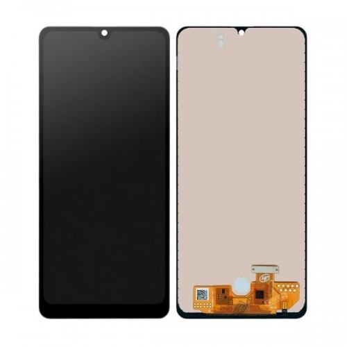 Дисплей для Samsung A31 2020/A315, черный, с тачскрином, OLED